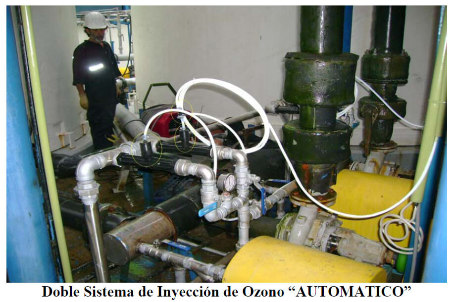 doble sistema ozono